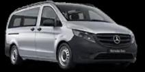 Boka provkörning Mercedes transportbil