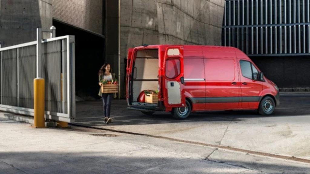 Försäkring Mercedes transportbil