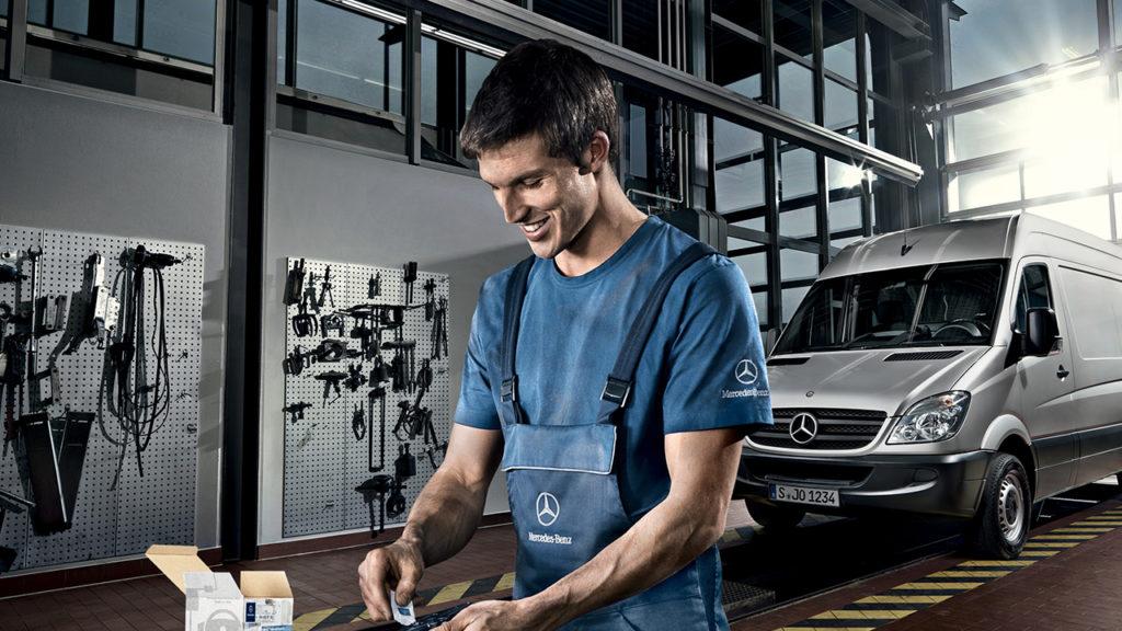 Boka service för din Mercedes
