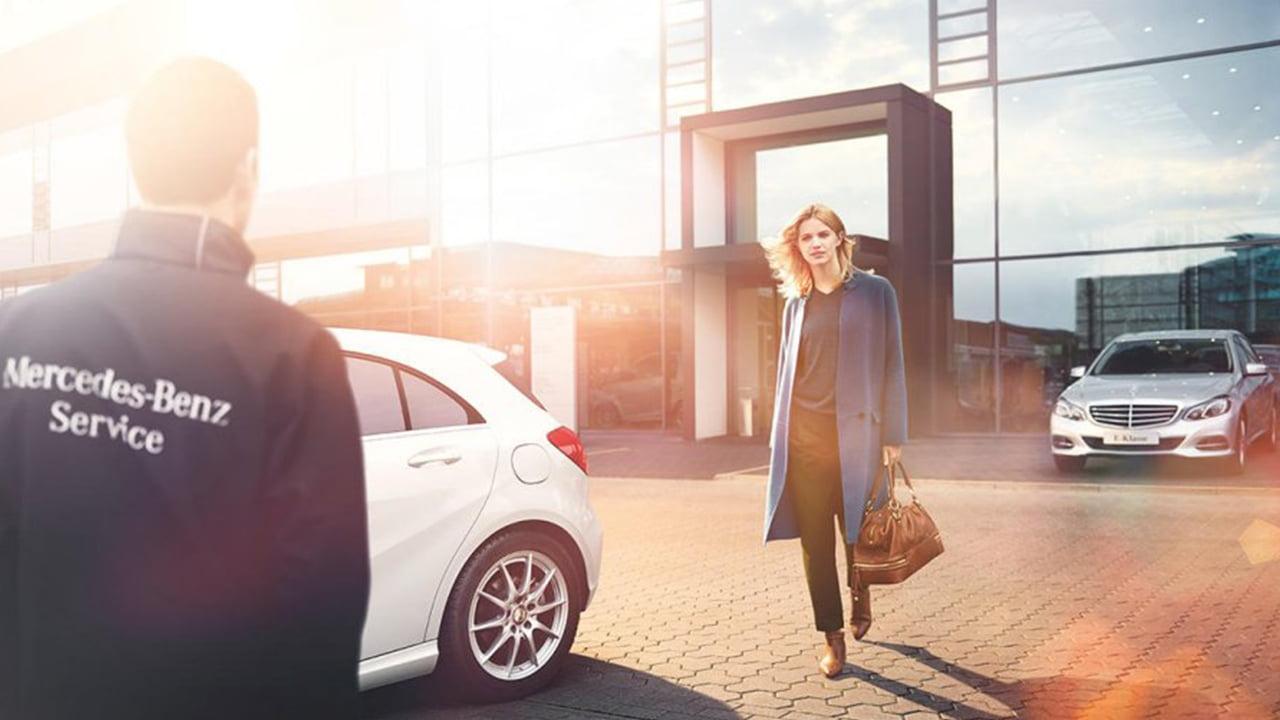 Boka tid för service hos Mercedes-Benz Malmö