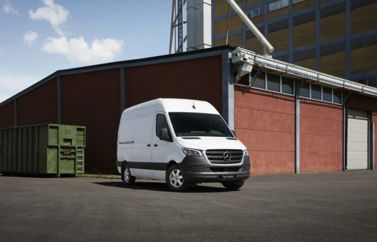 Kampanj nya Mercedes sprinter