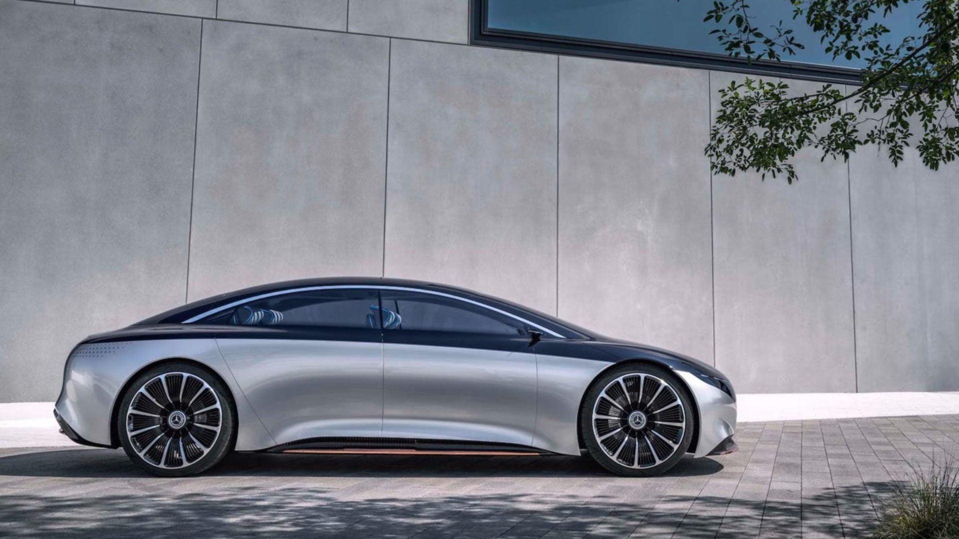 Konceptbil Mercedes EQS