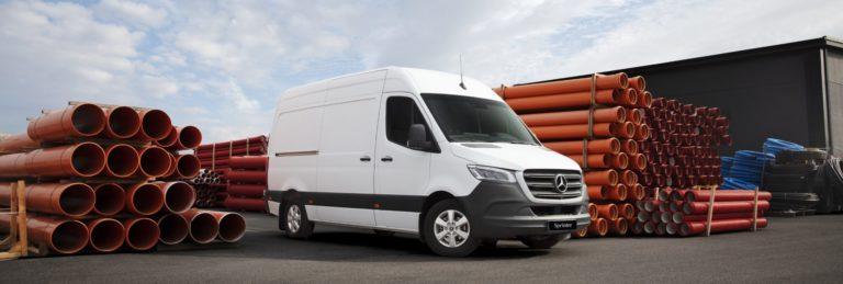 Boka provkörning av Mercedes Sprinter